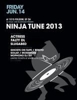 NINJA TUNE 2013 : ACTRESS, FALTYDL, SLUGABED AND MORE!