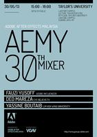 Adobe After Effects Malaysia (AEMY) May 30th Mixer!