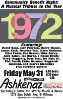 Musical Tribute to 1972 - a benefit for Ashkenaz!
