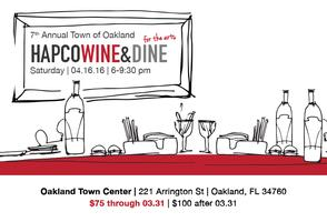 Wine and Dine for the Arts FEATURING THE Ocoee High Sch...
