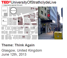 TEDxUniversityOfStrathclydeLive