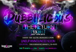 DUBBILICOUS : THE RETURN FEAT DANK, HUGLIFE , TEAM...