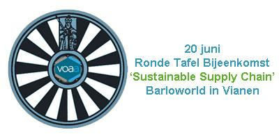 Ronde Tafel bijeenkomst 'Sustainable Supply Chain'