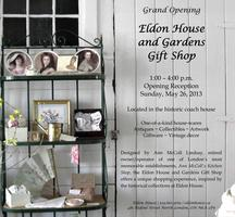 Eldon House and Gardens Gift Shop - Grand Opening Reception