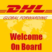 DHL Global Forwarding Welcome On Board