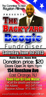 The Backyard Boogie Fundraiser