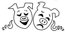 Emerald Pig Theatrical Society logo