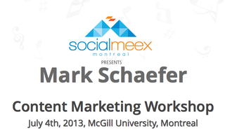 "SocialMeex presents ""Cut through the Clutter"", a content..."