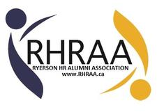 Ryerson Human Resources Alumni Association (RHRAA) logo