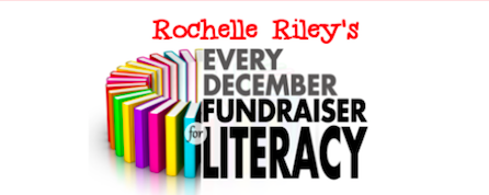 ROCHELLE RILEY'S EVERY DECEMBER FUNDRAISER FOR LITERACY