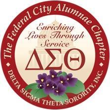 The Federal City Alumnae Chapter of Delta Sigma Theta Sorority, Inc. logo
