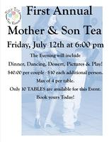 Tiny Tots First Annual Mother & Son Tea