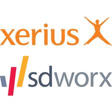 SD Worx & Xerius logo