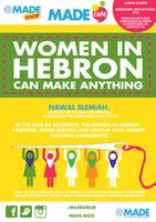 MADE Cafe: Women in Hebron (can make anything)