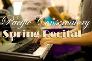 Pacific Conservatory Spring Recital Registration