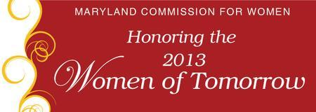 2013 Women of Tomorrow Award Ceremony