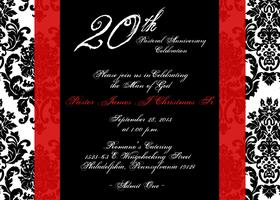 20th Pastoral Anniversary Celebration - Rev. James J. Christmas,...
