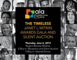 The Timeless Janet L Witkin Awards Gala and Silent Auction