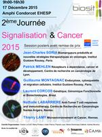 DEUXIEME JOURNEE SIGNALISATION ET CANCER (SCAN), RENNES