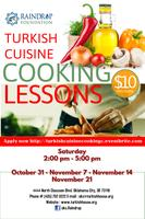 Turkish Cuisine Cooking Classes - Oklahoma City