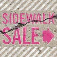 Arts & Vintage Sidewalk Sale
