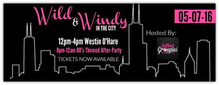 Wild & Windy in the City Author Event May 2016