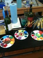 BYOB PAINTING CLASS FROM DRAW IT OUT!