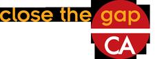 close the gap CA logo