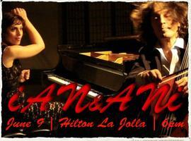 iAN&ANi CELLO-PIANO NIGHT @ HILTON LA JOLLA