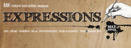 "RAWartists Riverside presents ""Expressions"""