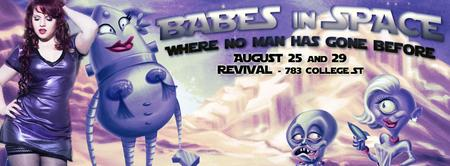 Babes in Space: Where No Man Has Gone Before