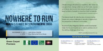 "Green Carpet Premiere ""Nowhere to Run: Nigeria's..."