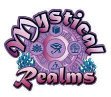 Mystical Realms Crystals & Books logo