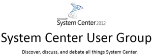 System Center User Group Meeting