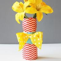 Duct Tape Vase Craft