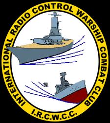 International R/C Warship Combat Club, Inc. logo