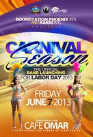Boom Station Labor Day 2013 Band Launching
