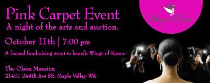 Wings of Karen Pink Carpet Event