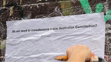 Real Democracy Australia at Monash University Museum...