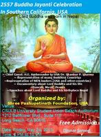 Buddha Jayanti Celebration in Southern California - FREE +...