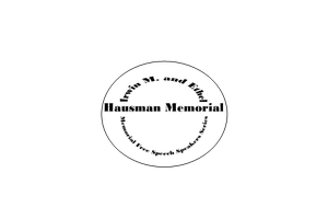 The Irwin M. and H. Ethel Hausman Memorial Speakers series:  My...