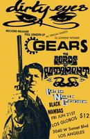 DIRTY EYES LP PRE RELEASE BASH W/ THE GEARS, LORDS OF ALTAMONT,...