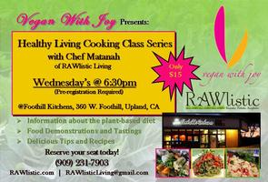 Healthy Living Cooking Class & Food Demonstration