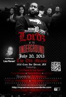 "RON.D presents ""Lordz Of The Underground"" Bday..."