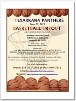 Texarkana Panthers Professional Men's Basketball Tryout