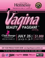 DJ Dick Hennessy's 4th Annual Vagina Beauty Pageant™