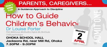 Parent Seminar with Louise Porter