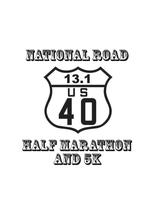 National Road Half Marathon and 5K