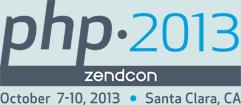 PHP 2013 - ZendCon