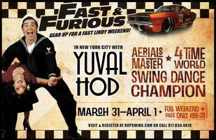 Fast & Furious Workshop ★ Fast Lindy Weekend w Yuval...